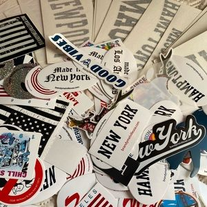 50 Random Brandy Melville stickers